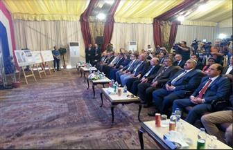 """وزيرا الآثار والتنمية المحلية يصلان """"عرب يسار"""" لوضع حجر أساس مشروع تطوير ميدان وكوبري السيدة عائشة"""