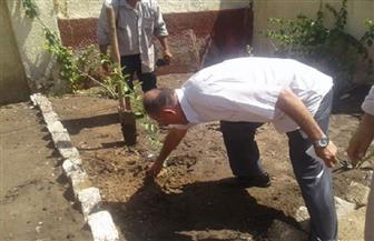محافظ القليوبية يدشن المبادرة الرئاسية لزراعة مليون ونصف المليون شجرة مثمرة