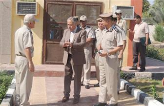 في أول جولة.. مدير أمن قنا يشدد على نظم التدريب لقوات الشرطة | صور