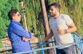"""تفاصيل حياة النجم محمد حماقي في برنامج جديد لـ""""ممدوح موسى""""  صور"""