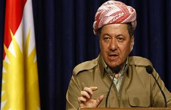 بارزاني يدعو الأكراد لاحترام العرب اللاجئين في إقليم كردستان العراق