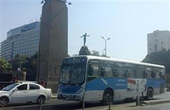توقف حركة المرور أعلى كوبري قصر النيل