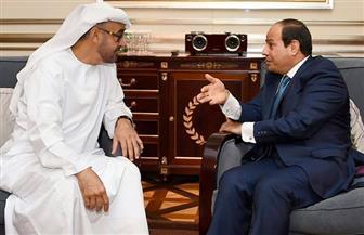 ولي عهد أبو ظبي يهنئ الرئيس السيسي بمناسبة عيد الأضحى المبارك