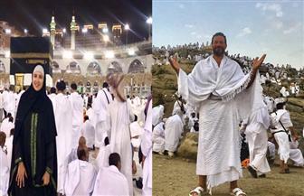 الفنانون في العيد.. ياسمين وكريم وبيومي يؤدون مناسك الحج.. ونيللي كريم في الجونة
