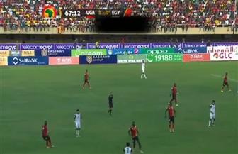 مباراة مصر وأوغندا: إيمانويل أوكوي يسجل الهدف الأول للرافعات