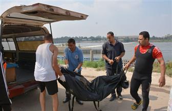 انتشال جثة شاب غريق بهاويس القناطر الخيرية | صور