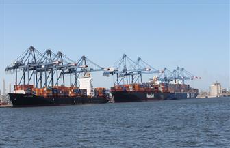 تداول حاويات 18 سفينة وتصدير 2500 طن يوريا و2000 طن ملح عبر ميناء دمياط