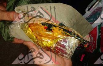 """ننفرد بنشر صور المضبوطات في واقعة إطلاق مجهولين أعيرة نارية بـ""""إسنا"""" على قوات الشرطة"""