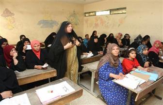 """""""تعليم الكبار"""" بسوهاج تبدأ تنفيذ خطة محو الأمية بالشراكة مع الوحدة المحلية"""