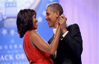 """أوباما يحصل على """"تهنئة رومانسية"""" من ميشيل في يوم عيد ميلاده"""