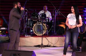 """أحمد سعد يغني لسمية الخشاب """"أجمل حب"""""""
