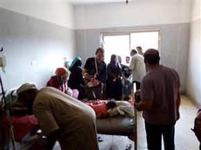 """تحويل 18 حالة تسمم من أهالي """"الربعماية"""" للمستشفى الجامعي بالزقازيق"""