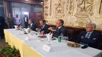"""بدء اجتماع الوطنية للصحافة مع قيادات المؤسسات القومية بـ""""الأهرام"""" لبحث سبل تثبيت أركان الدولة المصرية/صور"""