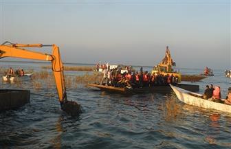 إزالة 5 مزارع سمكية في حملة أمنية على بحيرة المنزلة