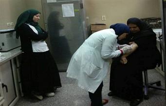 إجراء المسح الفيروسي على العاملين والمرضي بمستشفى التأمين الصحي ببني سويف