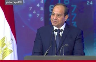 السيسي: نؤمن أن العلم والتكنولوجيا والإنتاج هم أساس التنمية وجوهرها