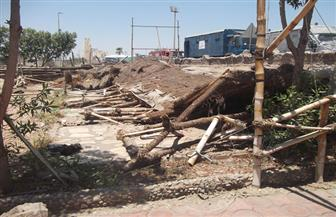 إزالة 4 كافيتريات غير مرخصة على الطريق الدائري لمدينة الفيوم | صور