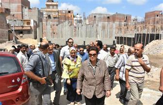 محافظ البحيرة: تطوير منطقة السناهرة بكفر الدوار بتكلفة 73 مليون جنيه | صور