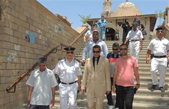 لليوم الثانى.. مدير أمن الأقصر يتفقد إجراءات تأمين معابد ومساجد وكنائس بالمحافظة | صور