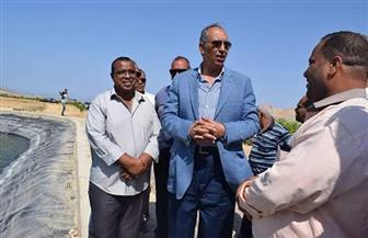 محافظ البحر الأحمر يتفقد عددًا من المشروعات بمدينة القصير| صور