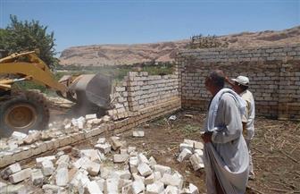 إزالة 25 حالة تعدٍ على طرح النيل وأملاك الدولة بسوهاج