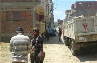 حملات نظافة مكثفة في مركزي كفر البطيخ وكفر سعد | صور