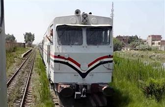 انتظام مسير قطار رقم ١٨٥ المتجه لسوهاج بعد توقفه بمحطة بنها