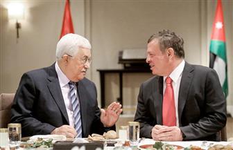 العاهل الأردني الملك عبد الله الثاني يصل مقر الرئاسة برام الله