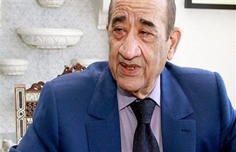 وزير الثقافة وشخصيات عامة في عزاء علي السمان بمسجد المشير طنطاوي