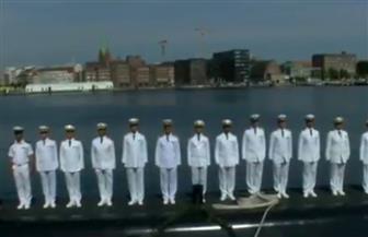 نص كلمة قائد القوات البحرية أثناء الاحتفال برفع العلم المصري على الغواصة تايب 42   فيديو