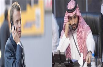 ولي العهد السعودي والرئيس الفرنسي يتفقان على تجفيف منابع الإرهاب