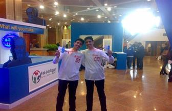 توأم بدمياط يفوز بالميدالية الذهبية في مسابقة دولية للإبداع العلمي بكندا