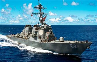 """المدمرة """"فيتزجيرالد"""" تنقل لأمريكا لإصلاحها بعد تصادمها بسفينة حاويات أمام ساحل طوكيو"""