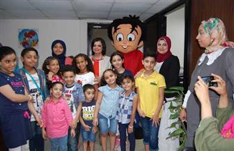 ورشة «تحليل رسوم الأطفال» تلقى إقبالاً كبيرًا من أصدقاء علاء الدين وأولياء أمورهم