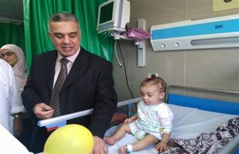 افتتاح عناية مركزة للأطفال بمستشفى فوزي معاذ بالإسكندرية