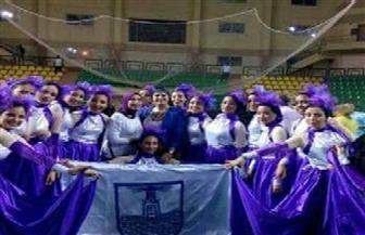 فوز طالبات جامعة الإسكندرية بالمركز الأول فى اللقاء الرياضي | صور