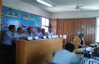 المجلس التنفيذي الزراعي بالإسكندرية يناقش مشروع البتلو|صور