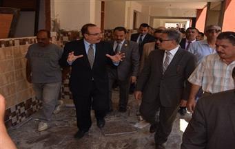 محافظ بني سويف يصطحب رئيس محلية النواب في زيارة لمشروعات خدمية وتنموية