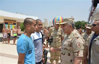 الفريق حجازي يتابع إجراءات القبول لاختيارعناصر الكليات العسكرية | صور