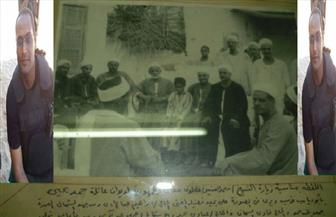 صور نادرة بديوان عائلة شهيد الشرطة بقنا الرائد أحمد عبدالفتاح