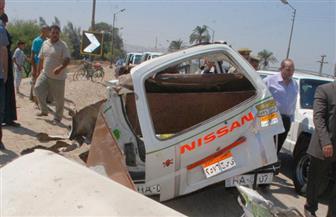 مصرع مواطن وإصابة 4 في حادث تصادم بأسوان