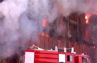 السيطرة علي حريق نشب بمصنع للزجاج بمدينة السادات دون حدوث إصابات