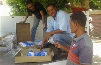 محافظ سوهاج: توزيع 600 كرتونة دجاج مجمد على 6 مراكز