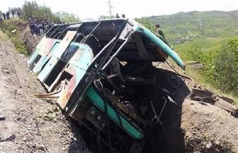 مقتل 25 وإصابة 57 آخرين في انقلاب حافلة بالكونغو الديمقراطية