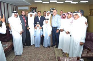 محافظ الغربية يبحث مع وفد سعودي سبل التعاون في المشروعات الصناعية