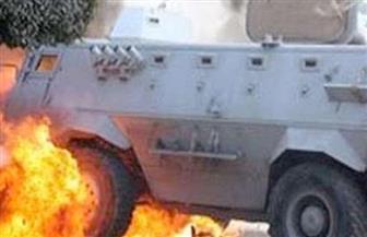 ارتفاع عدد شهداء انفجار العبوة الناسفة في العريش إلى 9.. وإخلاء الضحايا مازال مستمرًا