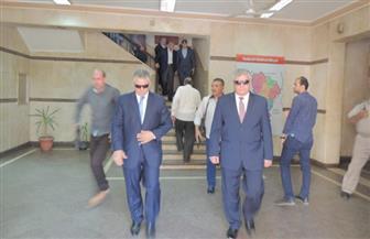 مساعد وزير الداخلية لمنطقة وسط الدلتا يتفقد مركز وقسم مدينة شبين الكوم بالمنوفية   صور