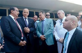 وزير الصحة: 100 مليون جنيه لإنشاء مبنى للحوادث والطوارئ بمستشفى بنها التعليمي | صور