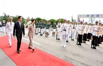 وزير الدفاع يُجري لقاءات مهمة مع كبار المسئولين بكوريا الجنوبية | صور