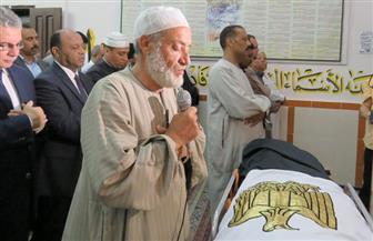 تشييع جثمان أمين الشرطة سامح الشهاوى شهيد الواجب بسيناء في الغربية   صور